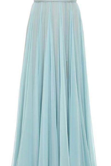 Fashion A-line Prom Dress,Zipper Back Evening Dress,Cap Sleeve Charming Prom Dress