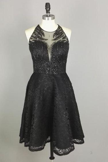 Black Homecoming Dresses,Little Black Dresses,cute graduation dresses