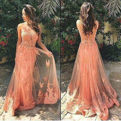 Backless Long Prom Dress, Lace Prom Dress, Off Shoulder Prom Dress